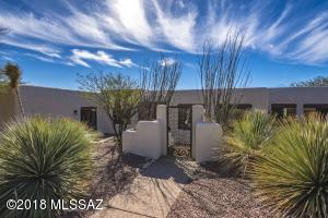 ...a beautiful and wonderfully appointed home in the central foothills of Tucson.