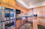 Double Ovens, Cooktop and Built in Refrigerator