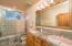 Slate Tile, Double Sinks