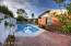 Backyard with Pool and Fruit Trees!
