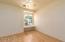 Guest Bedroom has Pergo flooring & Window Seat