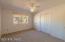 Large Second Bedroom with Cedar Closet & Bi-fold Door Closet