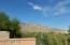 View of Catalina Mountains From Yard