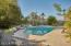 Sparking fenced pool