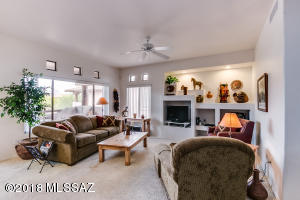 Open and spacious living area