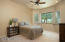 Ceiling fans & recessed lighting in all bedrooms