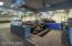 Custom sports bar/lounging area