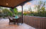 Private guest house patio w/views
