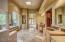 Incredibly spacious master bath w/dual vanities