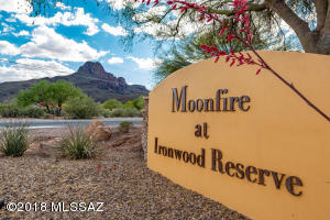This home is located in the pretty community of Moonfire at Ironwood Reserve.