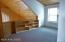 Open loft with built in storage