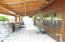 Backside of cabin.