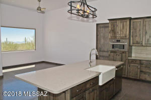 Previously Built Home - John Herder Building allows for substantial client customizing, including flipping the kitchen with the breakfast nook pictured here.