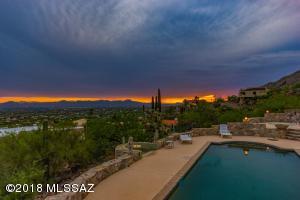 Sunset & city views