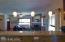 Breakfast bar,large open kitchen