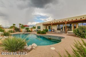Perfect Monsoon storm coming in.