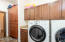 Features Ample Storage and Utility Sink