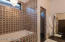 Full Tile Surround Tub and Walk-In Shower