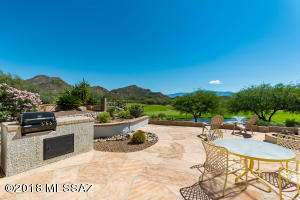Stunning views from extended flagstone patio/porch.