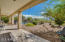 Full Covered Back Patio To Enjoy Wonderful Views Of The Mountains
