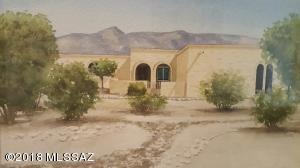Artist Rendering: 1.3 Acre Sabino Vista Masonry Territorial Home