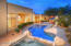 Tranquil and inviting, the pool and spa are irresistible.