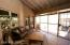 Arizona room is screened in and accessed from dining room or Bedroom 3