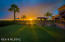 Large Grass Area with City and Sunset Views