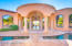 Dramatic Entry w/ whimsical Moat to put you at ease.