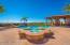 Beautifully Designed Pool area w/ Raised Spa.