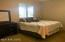 Master suite with large walk-in closet and en suite master bath.