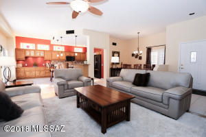 Open floor plan is perfect for entertaining