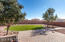 From patio into one of the largest backyards in the subdivision.