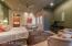 Cove ceiling lighting, walk-in closet