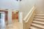 Entry Way to Theater Room, One Bedroom and Bath Upstairs