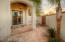 private courtyard off the Master Bedroom