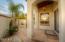 Master bedroom courtyard