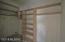 Two walkin closets in the Main Bedroom.