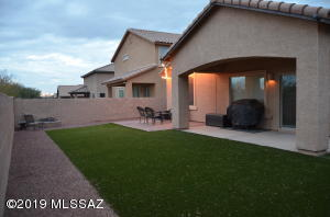 Covered Patio, Turf...