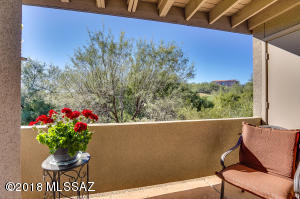 Extremely private patio overlooking Ventana golf course