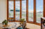 Breakfast room with magnificent mtn views