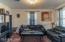 Nice size living room.
