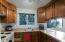 Guest house kitchen.