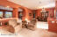 Formal living & dining areas