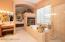 Master bath retreat w 2-way fireplace, Walk-in shower & garden tub