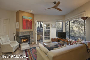 Door leads to your own private, screened-in patio overlooking fantastic mountain views