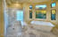 MASTER BATH, MARBLE FLOORS, COUNTERTOPS, SHOWER