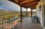 Balcony off of Master bedroom & Guest suite