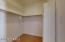 Walk-is closet in master bedroom.