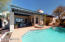 Heated pool and spa overlook the city of Tucson for the most private entertaining and relaxation.